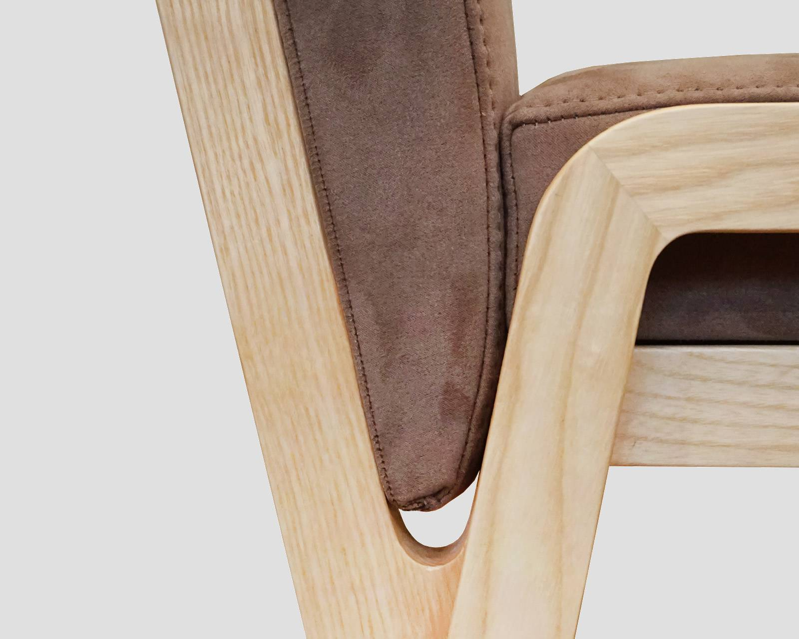 Stackable Dinging Chair - Lisa Krausz Design. Detailed View